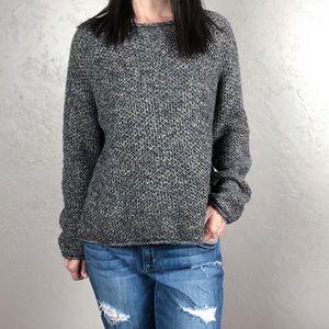 Vintage Oversized Chunky Knit Sweater